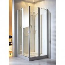 Kabina AQUAFORM Glass 5 90 chrom szkło przejrzyste