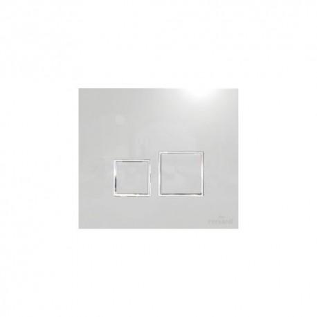 Przycisk CERSANIT do stelaża podtynkowego AQUA SQUARE biały