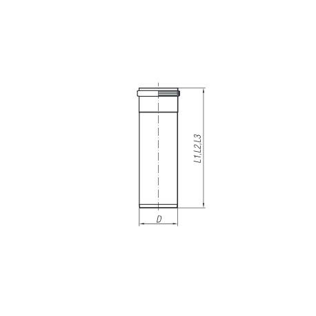 Rura TURBO SPIROFLEX 60 1mb